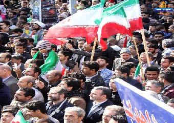 راهپیمایی مردم گنبد در22بهمن/تصاویر مردم گنبد در روز عزت وهمدلی