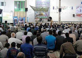 تصاویر/ مراسم چهلمین روز شهادت دومین شهید مدافع حرم گنبد