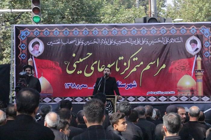 شور عزاداران حسینی دارالمومنین گرگان در روز تاسوعا /تصاویر