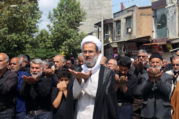 نماز ظهر عاشورا در سراسر گلستان اقامه شد /تصاویر