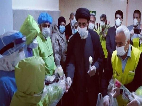 تبریک عید توسط نمایندگان امام جمعه گرگان به مدافعان سلامت گلستان