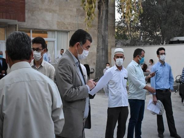 حماسه ماندگار مردم در شرایط کرونا پای صندوق های رای