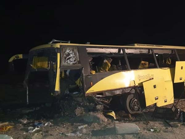 کشته و مجروح شدن 7 مسافر اتوبوس تبریز به گرگان