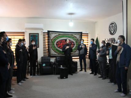گلستان ما - تصاویر/ سوگواری شهادت حضرت فاطمه زهرا(س) در دفتر گلستان ما