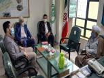 گلستان ما - دیدار اعضای بسیج رسانه با مدیرکل سازمان تبلیغات اسلامی گلستان