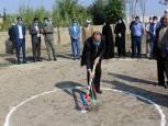 گلستان ما - یکصدو سومین مدرسه خیرساز در گنبدکاووس کلنگ زنی شد