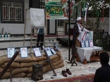 گلستان ما - مراسم آبروی محله و یادواره شهدا قلی تپه شهرستان گالیکش+ تصاویر